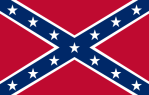 Confederate Rebel Flag, also the Battle Flag of Tennessee