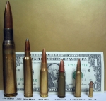 .50cal round on far left, .22cal on far right. NATO round 2nd from right.