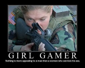 Girls are gamers, too.